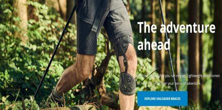 Walking knee braces